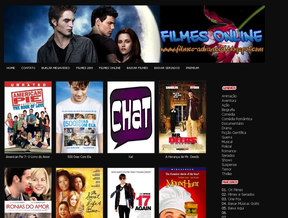 Template Filmes Advanced Espeedgeraldo S Blog